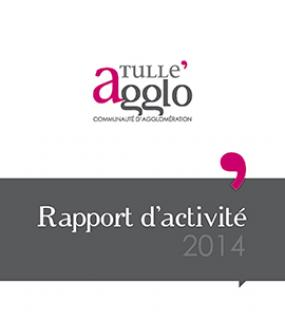 Rapports d'activités Tulle agglo 2014