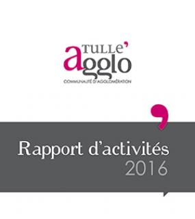 Rapports d'activités Tulle agglo 2016