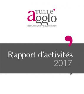 Rapports d'activités Tulle agglo 2017