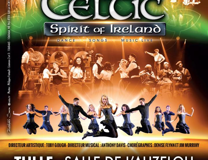 Irish Celtic, spirirt of Ireland
