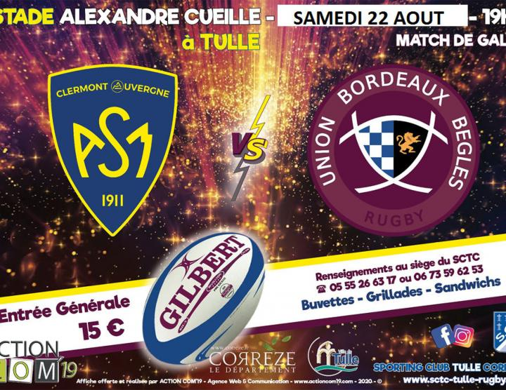 Match de gala : ASM - Bègles Bordeaux